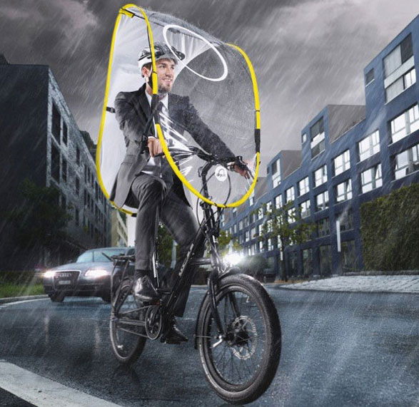 Dryve – lovely lightweight rain cover for bicycles makes your ride weather proof [Updated]