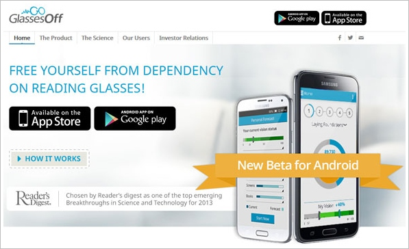Glasses Off – slick smartphone app helps reduce your need for reading glasses [Freeware]