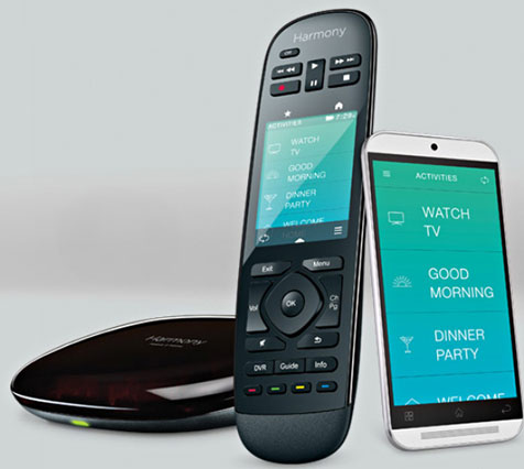 Logitech Harmony Ultimate Home – control your whole home with just one phone or remote