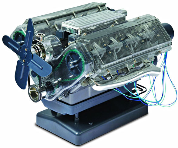 Haynes Build Your Own V8 Engine – the perfect gift for bonding with dad