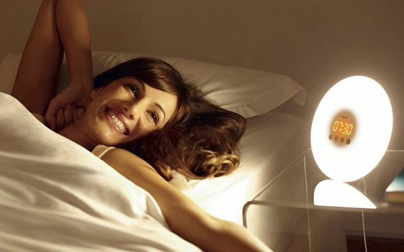 Philips Wake-Up Light – start every day like it's a Sunday
