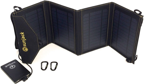 SunJack Phone Portable Solar Charger – say bye-bye to those dreaded low battery notifications