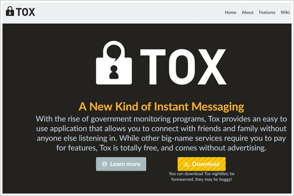 Tox – a new kind of secure instant messaging to replace Skype