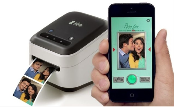 ZINK hAppy – your phone in one hand, printer in the other