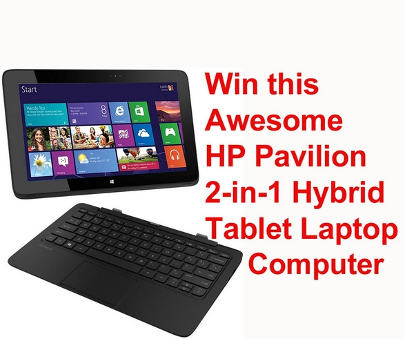 Red Ferret Reminder – HP Pavilion 11 Hybrid Tablet Laptop Giveaway. It's still up for grabs!