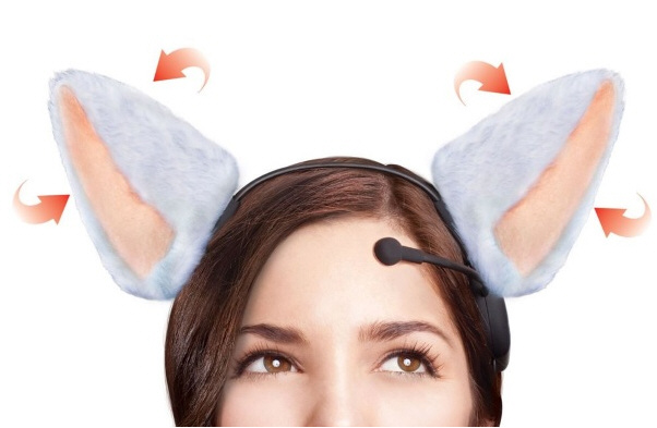Brain Wave Animated Cat Ears – share your feelings with adorableness