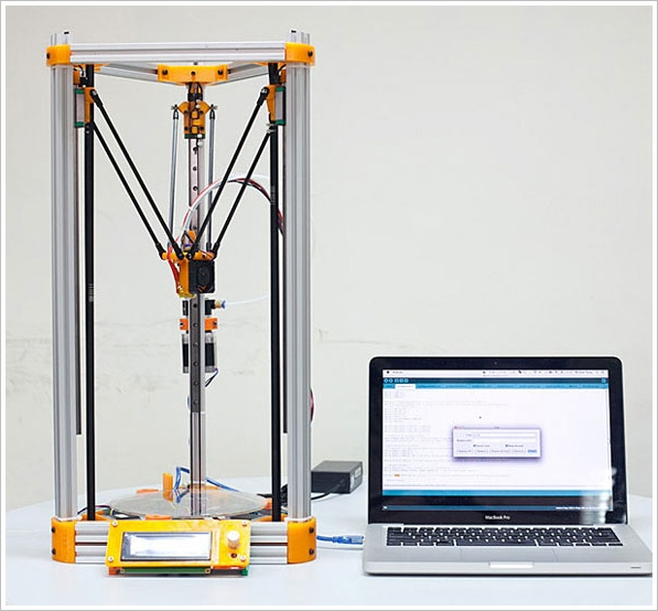 Kossel Mini DIY 3D Printer – build your own 3D printer to um build your own stuff
