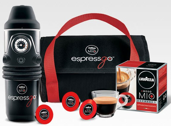 EspressGO Capsule Coffee Machine – because a hot cup of coffee can never wait