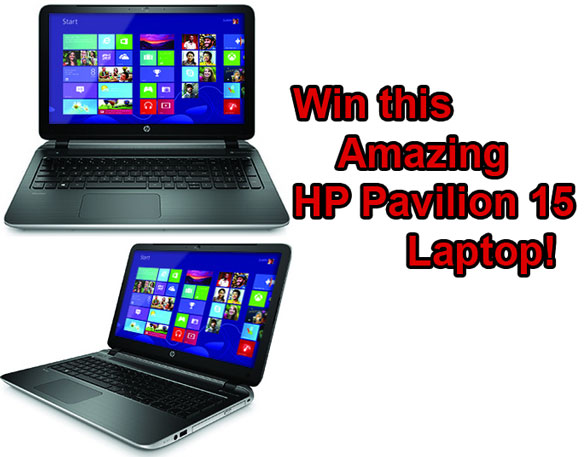 Red Ferret Giveaway 6 – win a superb HP Pavilion 15 Laptop Computer [Giveaway]