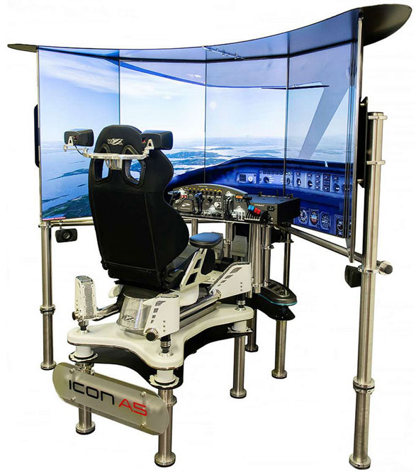VRX Flight Simulator – the nearest thing to a cockpit in your living room