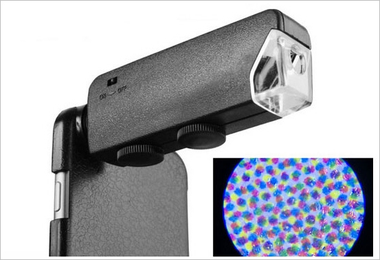 iPhone 6 Microscope – x100 magnification will let you take some amazing photos