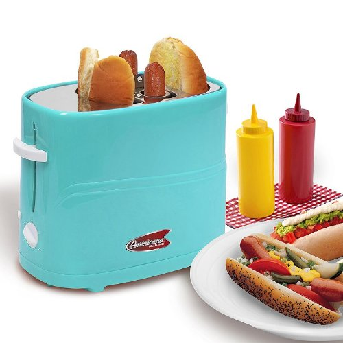 Elite Cuisine Hot Dog Toaster – ballpark meal for one please