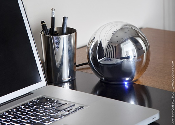 LaCie Christofle Sphere – channel MC Escher in your office