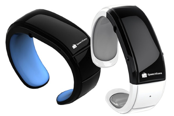 SpeechTrans Bluetooth Wristband – translations at your wrist