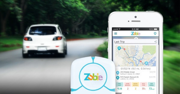 Zubie Smart Vehicle Monitoring Device – bring your aged car into the future