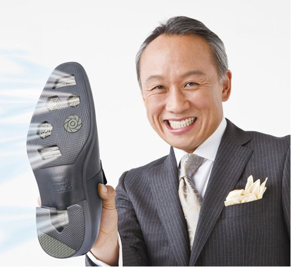 Air Conditioned Shoes by Hydro-Tech – for those hot and humid days in the office