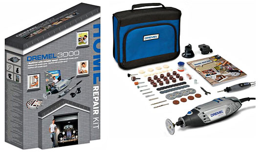 Dremel 3000 Home Repair Kit – drill, sand, saw, gouge and cut your way to DIY glory