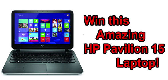 Red Ferret HP Pavilion 15 Laptop Giveaway – FINAL 48 HOURS!