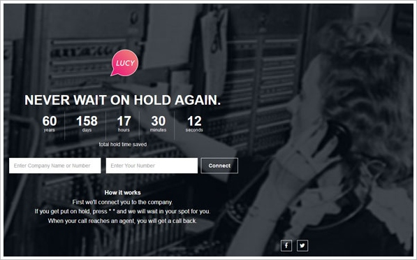 Lucyphone – never wait on hold again [Freeware]