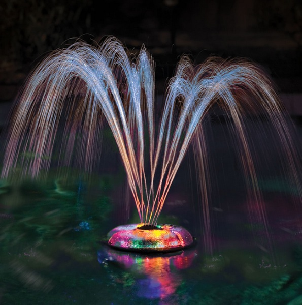 Floating Light and Water Show – turn your pool into a disco
