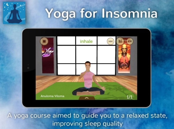 Yoga for Insomnia – combine working out with relaxation [FREEWARE]