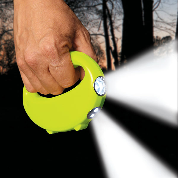 Nightlighter – a two way flashlight, easy on the eyes, easy on the hands