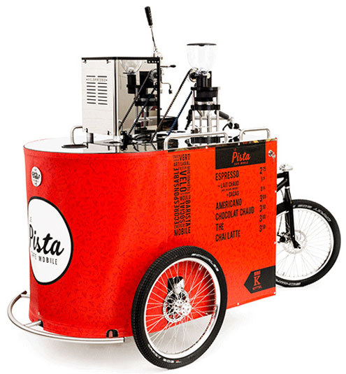 Velopresso – the pedal powered coffee trike