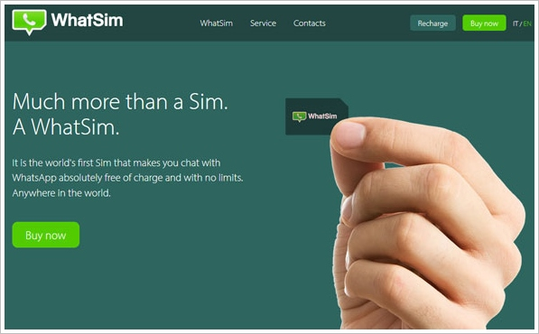 WhatSim – the cheap SIM card designed for unlimited WhatsApp chatting only