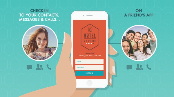 Hotel My Phone – the app that turns everyone's phone into your phone