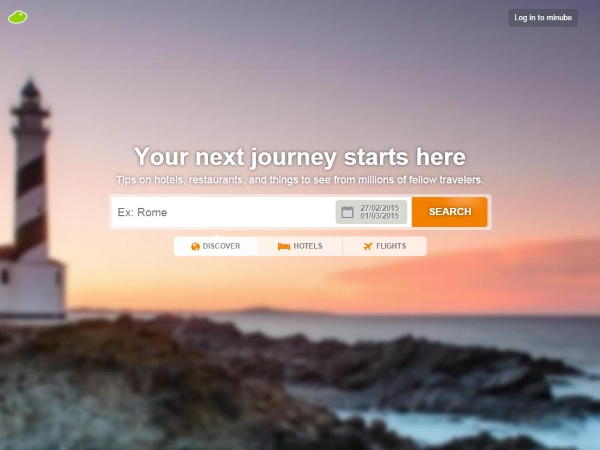 Minube – plan the perfect trip and document it