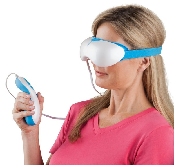 Strain Relieving Eye Massager – a better way to rest your eyes
