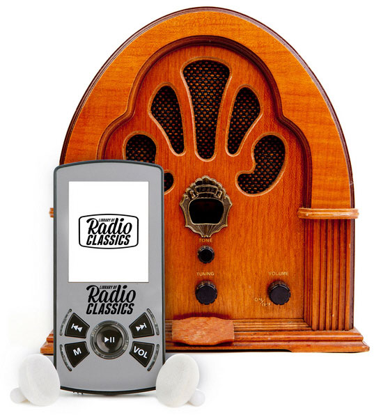 Library Of Radio Classics – relive those nostalgic radio shows from the good ole days