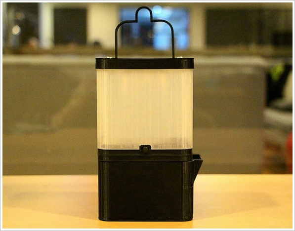 SALt – the eco lamp that runs off sea water and charges your phone