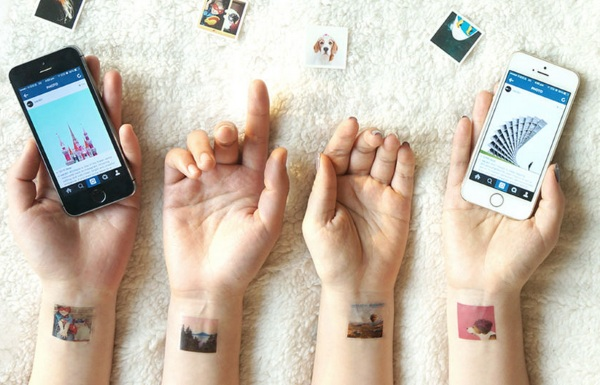 Picattoo – turn your Instagram photos into temporary tats