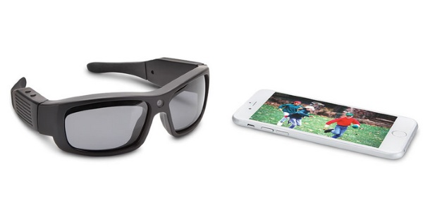 Video Recording Wi-Fi Sunglasses – capture every moment just by looking at them