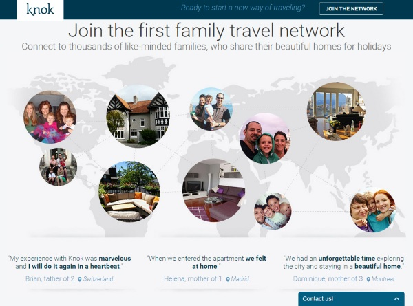 Knok – AirBnB for people with families