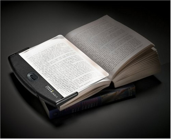Lightwedge Paperback LED Booklight – illuminate your reading one page at a time