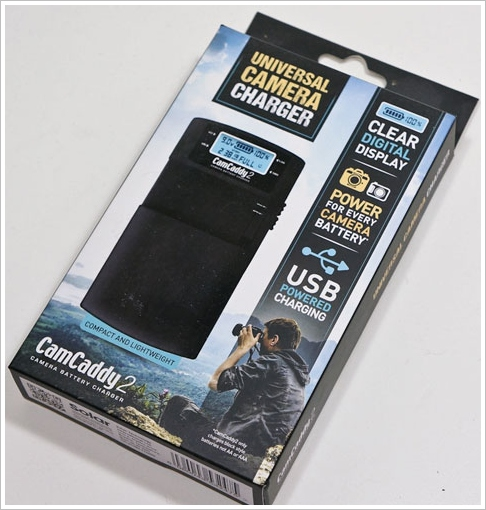 CamCaddy 2 – charge your camcorder or DSLR battery from any USB battery block, solar charger or laptop [Review]