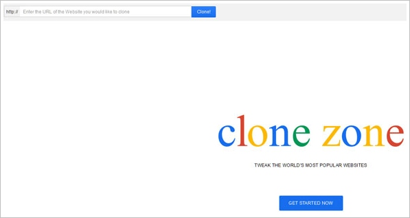 Clone Zone – create your own smash news story and publish it on your favorite mega site