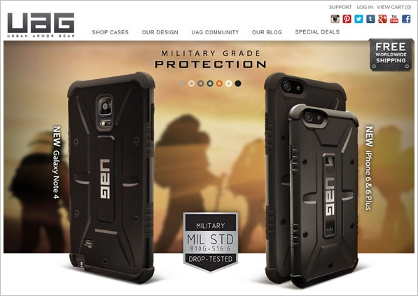 UAG Military Grade Cases – ultra tough, military grade protection for your gadgets
