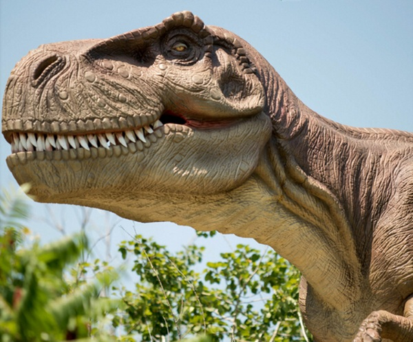 Realistic T-Rex Dinosaur – bring a little Jurassic World to your lawn