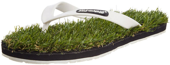 Grass Slippers – so cool, so fake