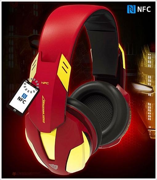 IronMan 3 Bluetooth Wireless Headphones – insert catchy marketing slogan here