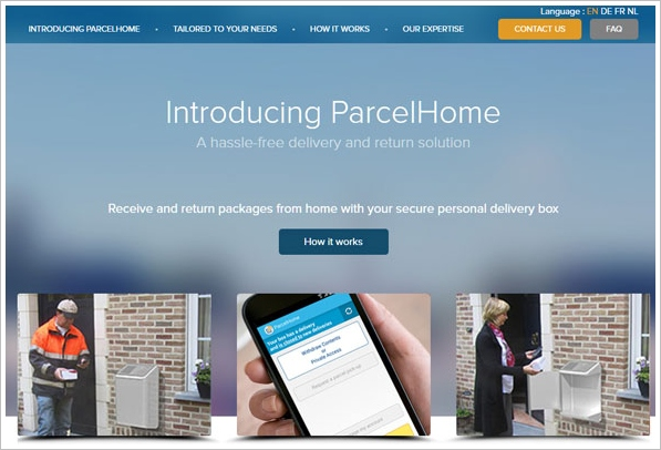 ParcelHome – the smart letterbox you control with your phone