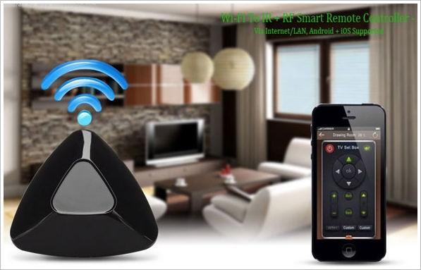 Smart Home WiFi Controller – turn your phone into a controller for almost everything