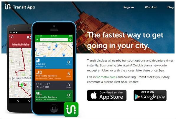 Transit App – great little app for navigating your city transport [Freeware]