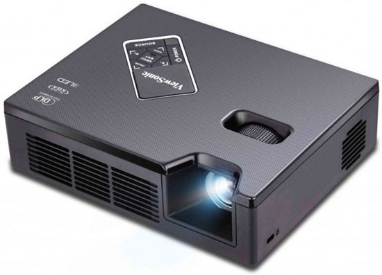 Viewsonic PLED-W600 LED Projector – ultralight 600 lumens projector really shines