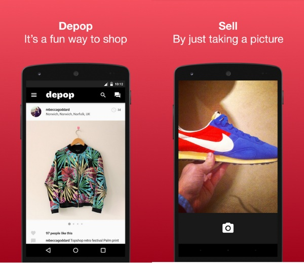 Depop – sell your fancy things with a picture [FREEWARE]