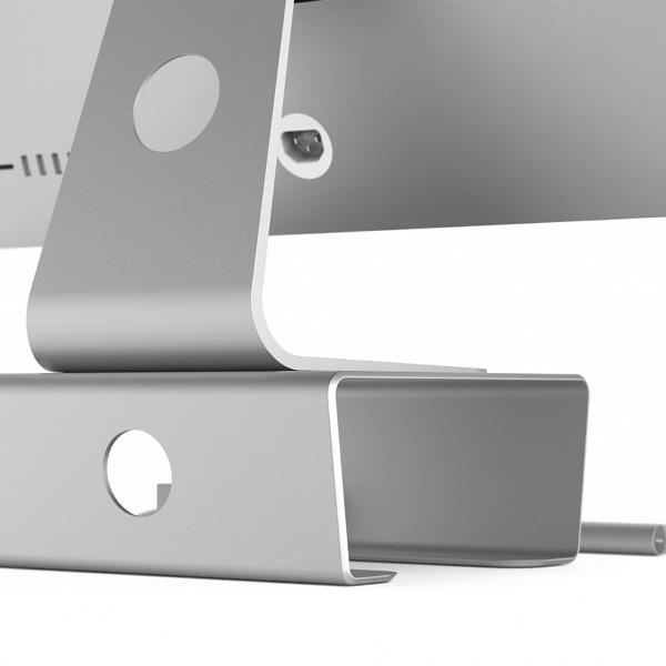 Satechi Premium Aluminum Monitor Stand back