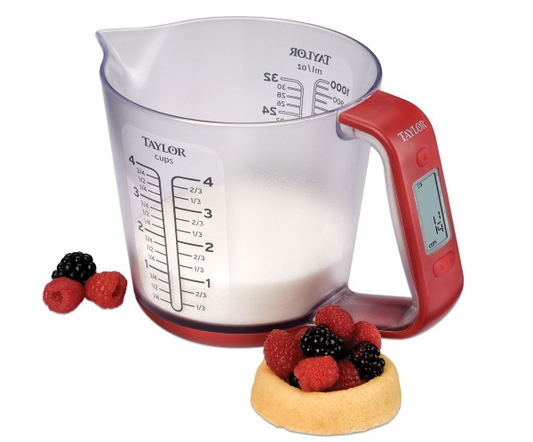 Taylor 3890 Digital Measuring Cup and Scale – up your kitchen game with more precise measurements